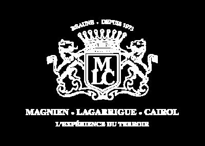 MLC | MAGNIEN - LAGARRIGUE - CAIROL ©2015 - Clicher.eu | Creation logo