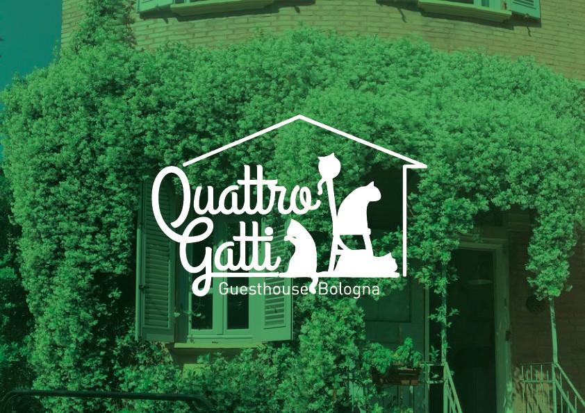 Conception de logo et photo pour Gîte | Quattro Gatti