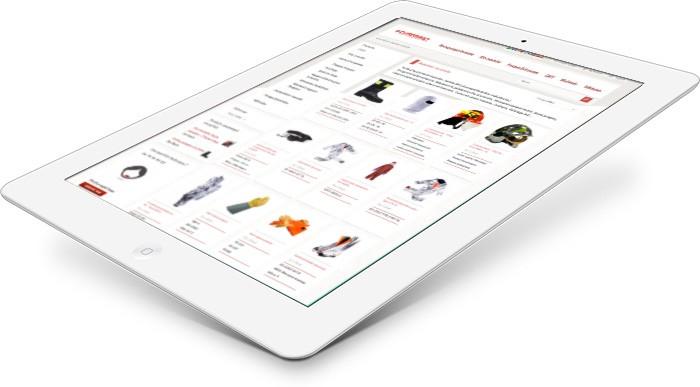Creation de site catalogue responsive design