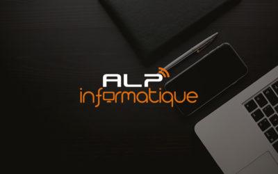 Création de logo, Carte de visite et site web | ALP Informatique | Chambéry – Savoie