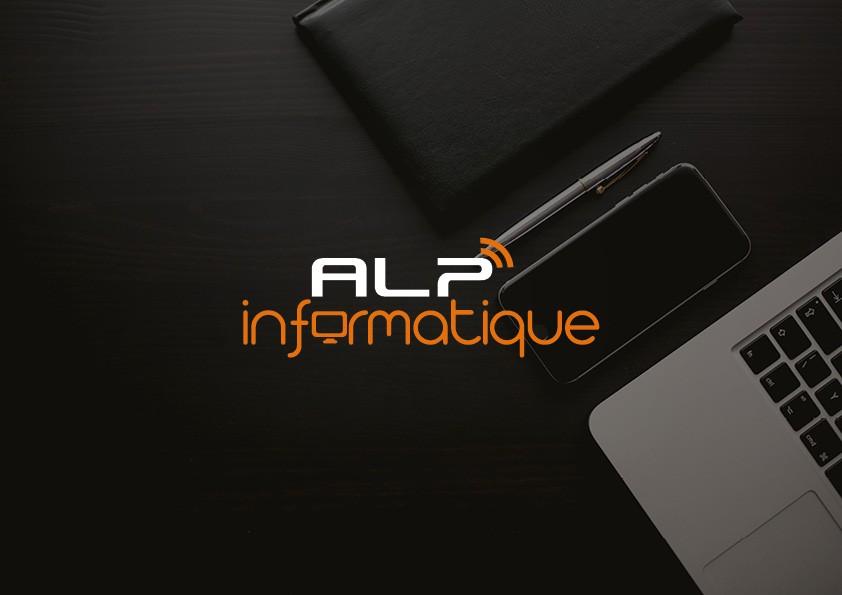 Création de logo & site internet | ALP Informatique