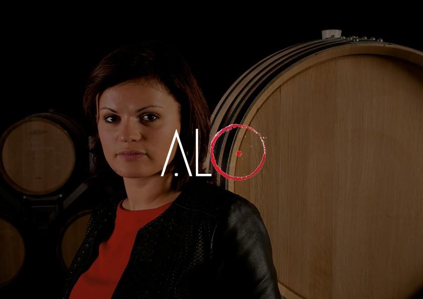 Conception du logo & carte de visite | A.L.O