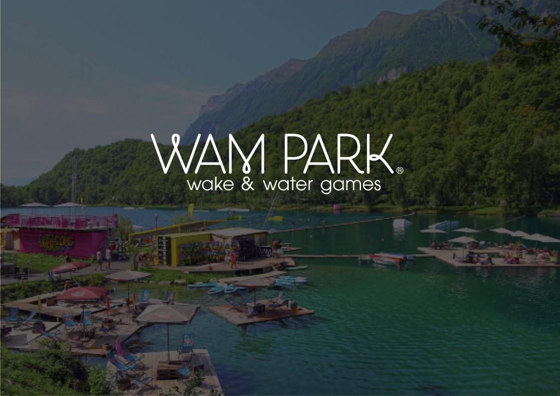 Conception graphique print & web | WAM PARK Bases de loisirs