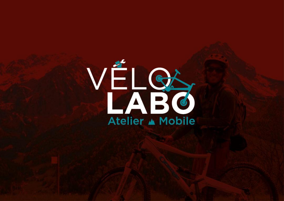 Création du logo pour l'atelier VeloLabo en savoie