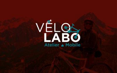 Création de logo, supports de communication | Atelier Vélo Labo | Savoie