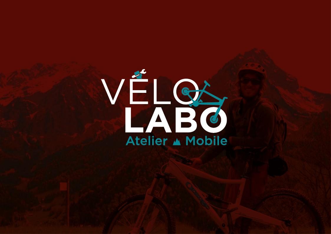 Création de logo et supports de communication | Atelier VeloLabo