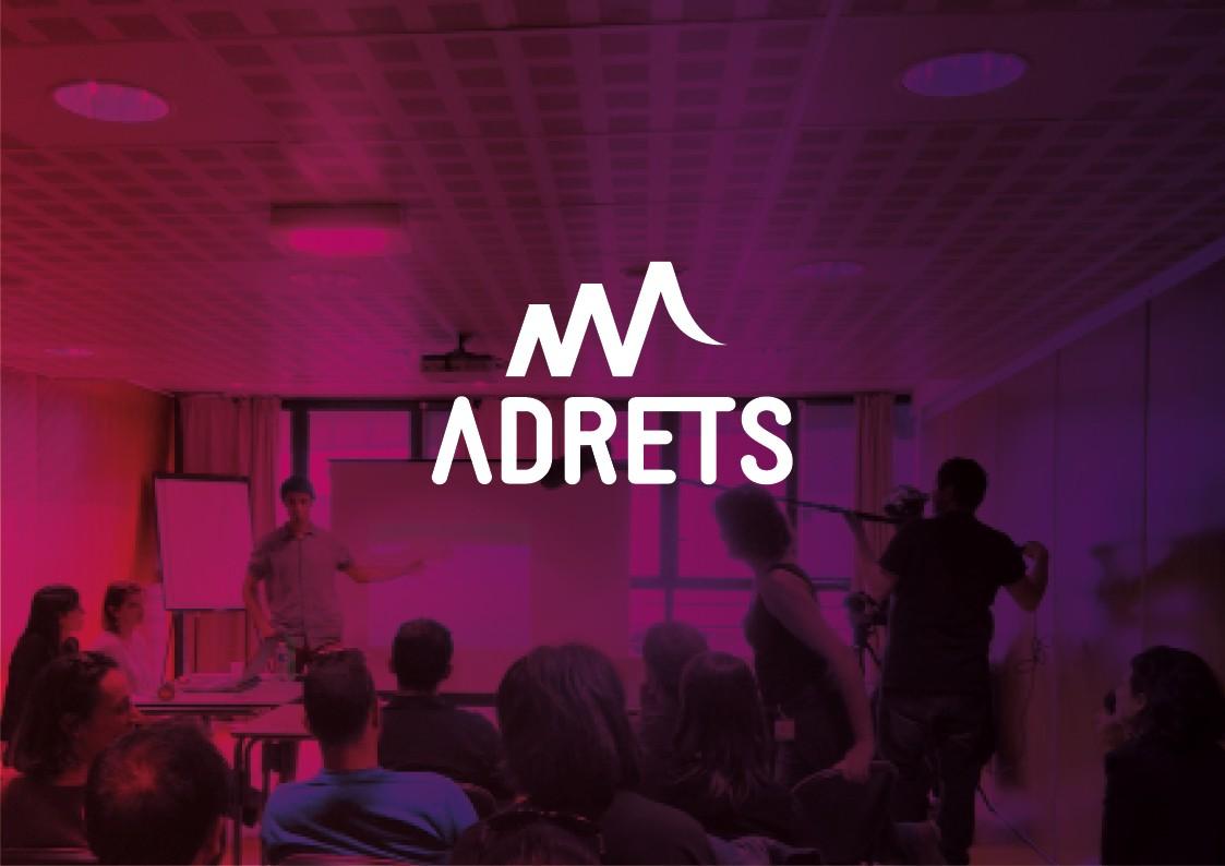 Création graphique et refonte du site web pour Association | ADRETS | Savoie