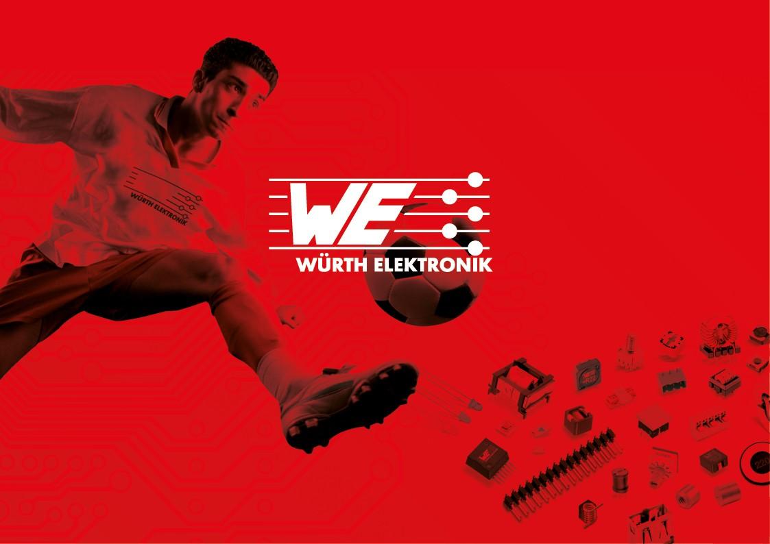 Création graphique carton invitation corporate | Würth Elektronik | Lyon
