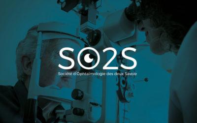 Création de logo pour association | SO2S – Société d'Ophtalmologie des deux Savoie