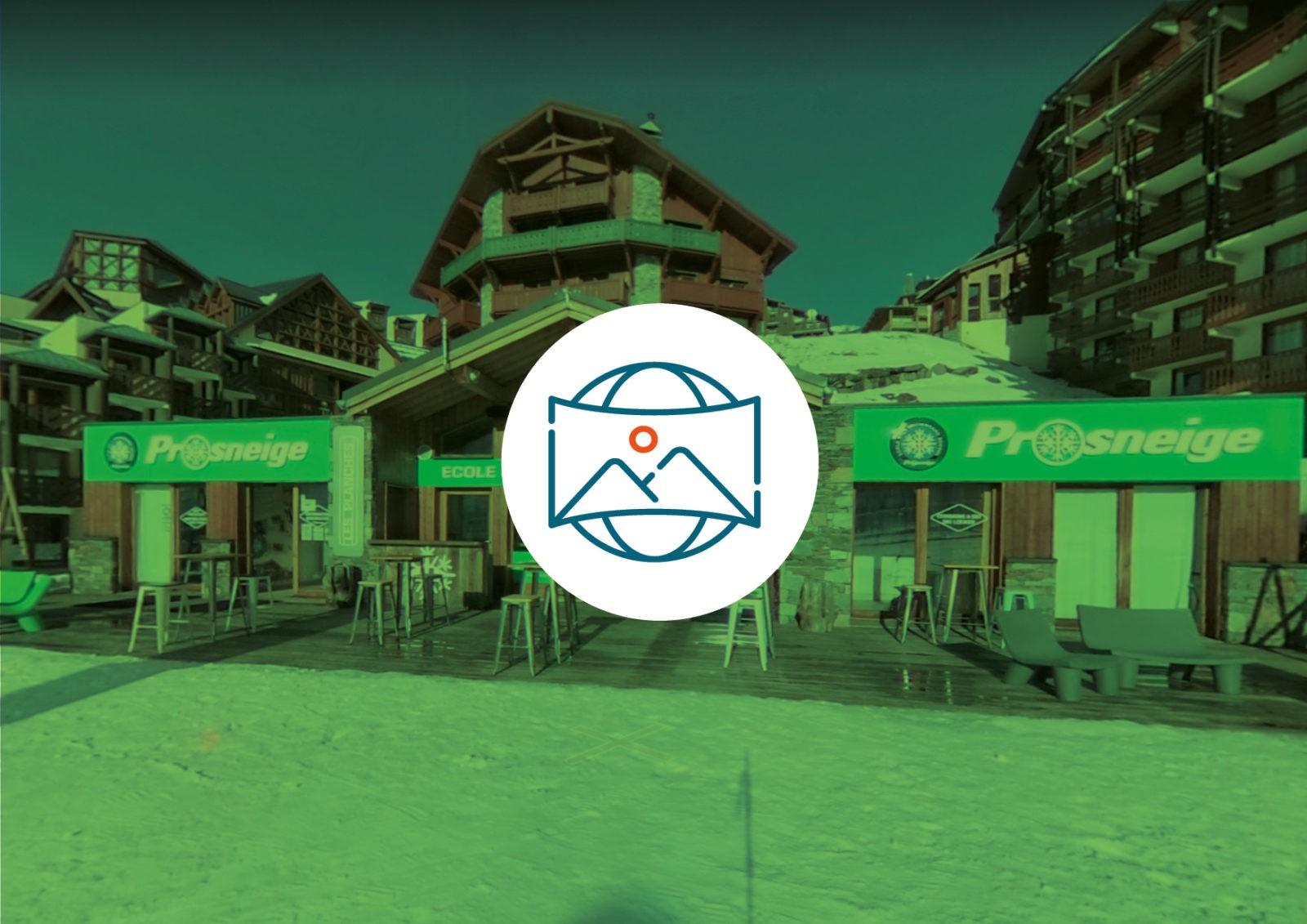 Visite virtuelle 360° | Prosneige Ecole, location et magasins de ski | Savoie