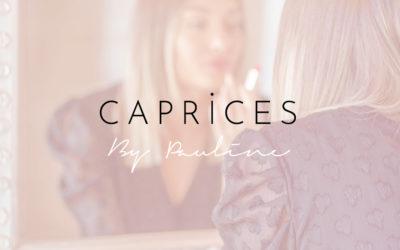 Conception d'une boutique en ligne de vêtements de mode | Caprices By Pauline | Aix-Les-Bains – Savoie