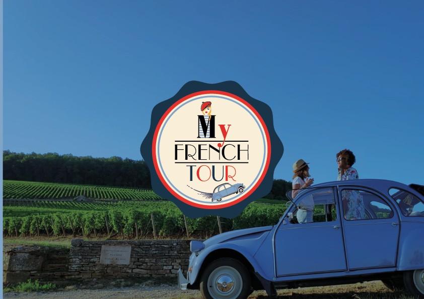 Création du site internet touristique et cours de langues en bourgogne | My French Tour
