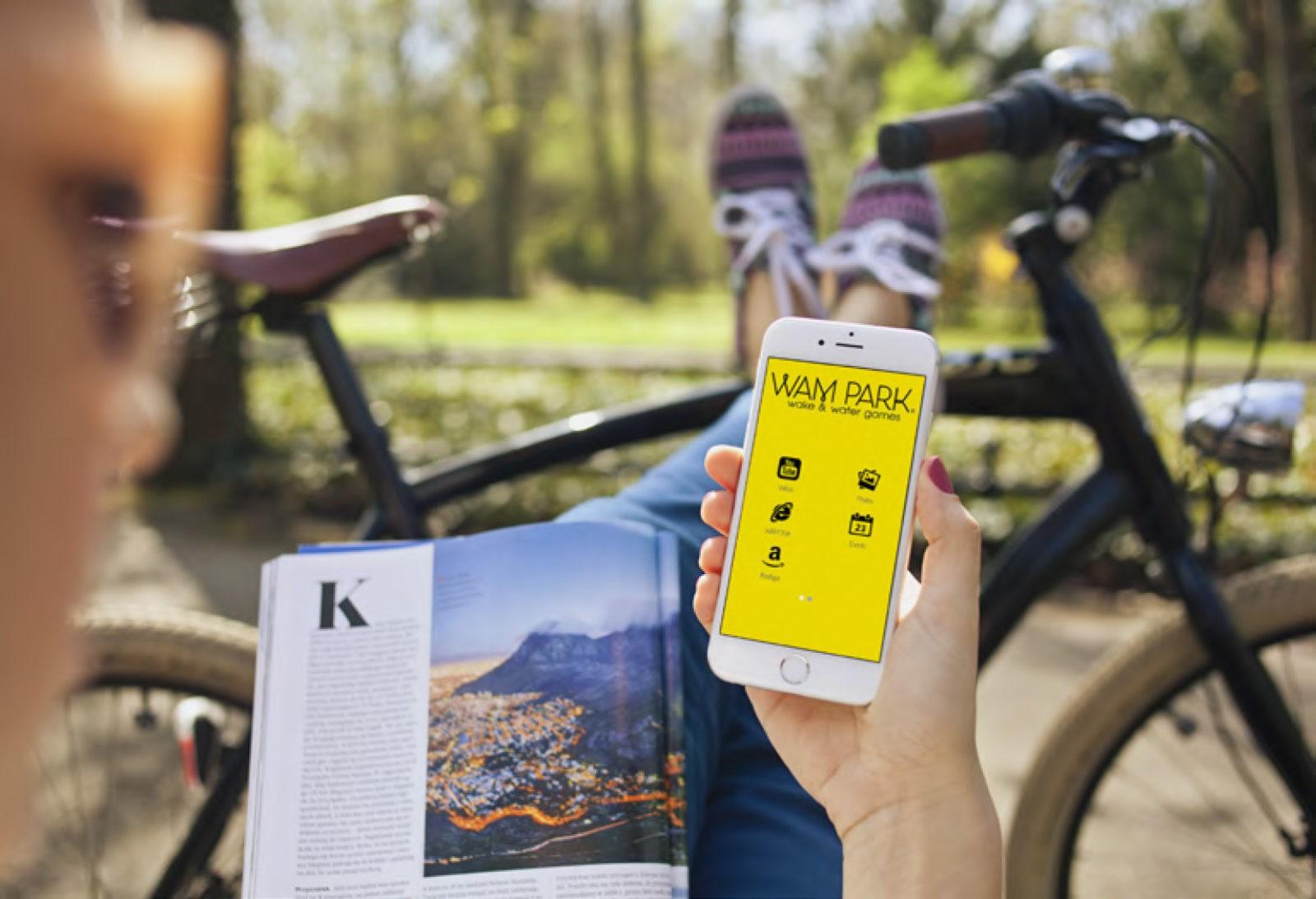 Création de site internet E-commerce pour base de loisir WAM PARK Savoie