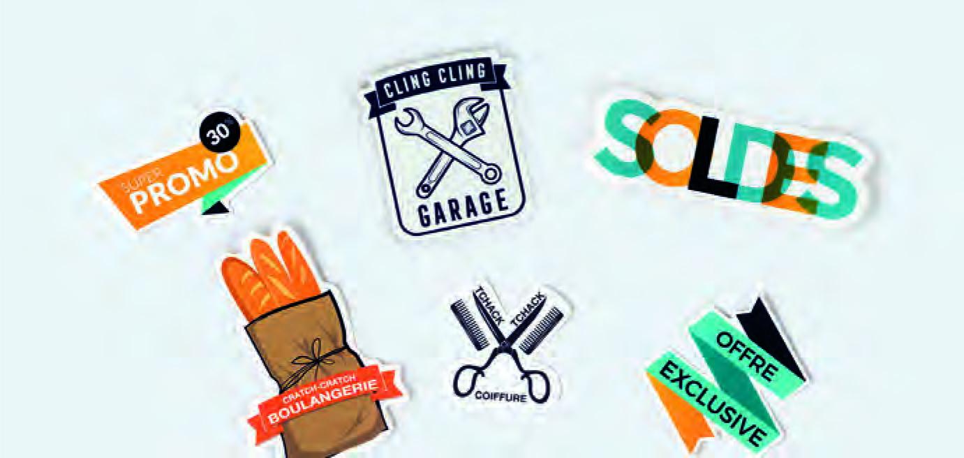 Création et impression d'étiquettes et Stickers en Savoie