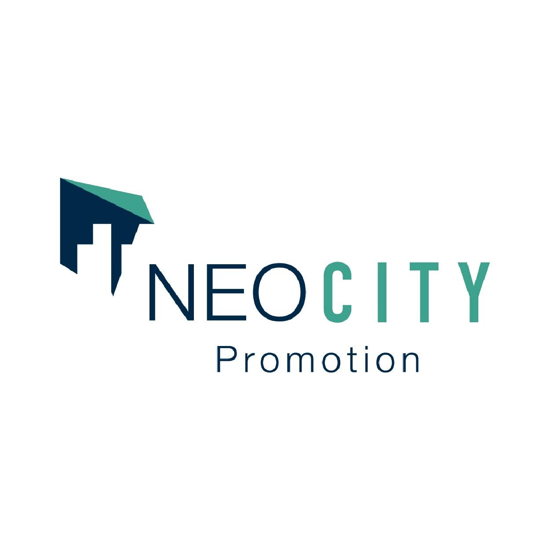 Conception de site web immobilier pour le promoteur NEO CITY- Logo - Clicher
