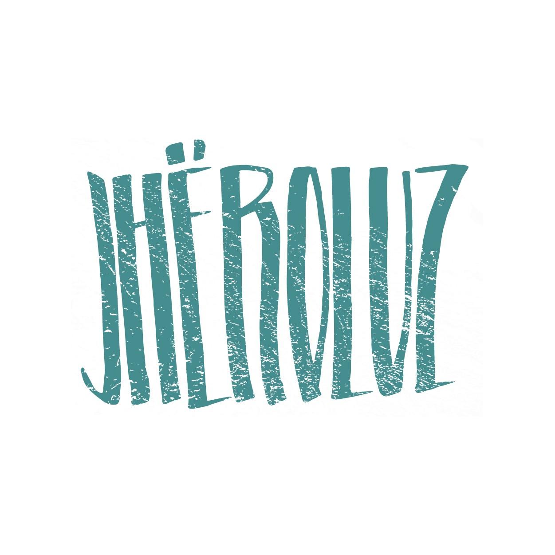 Creation graphique pour artiste rap JHEROLUZ - bourgogne