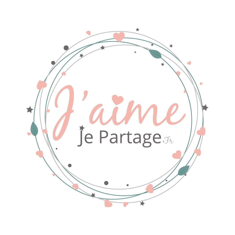 Création de logo et site internet blog J'aime je partage
