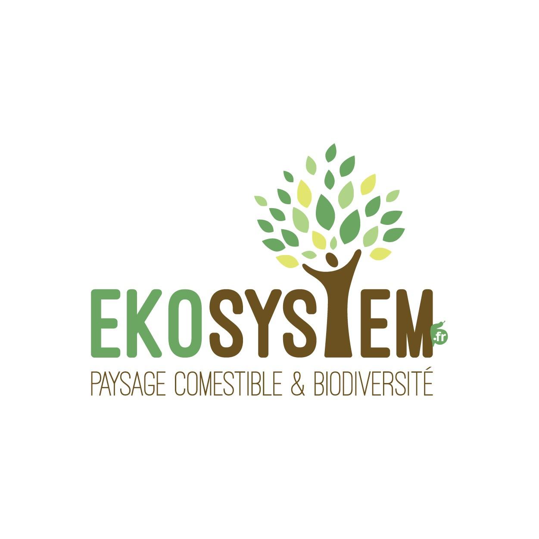 Création logo et site internet EKOSYSTEM permaculture - Haute-Savoie