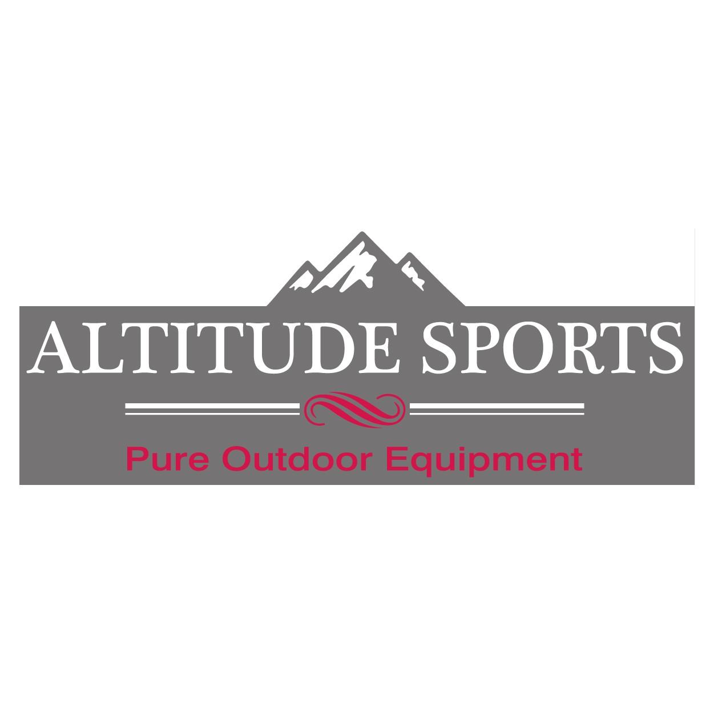 Creation logo et site internet machand pour Altitude sport - Lyon