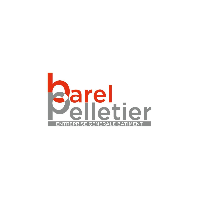 Création logo et support de communication pour entreprise de construction batiment Barel Pelletier - Savoie