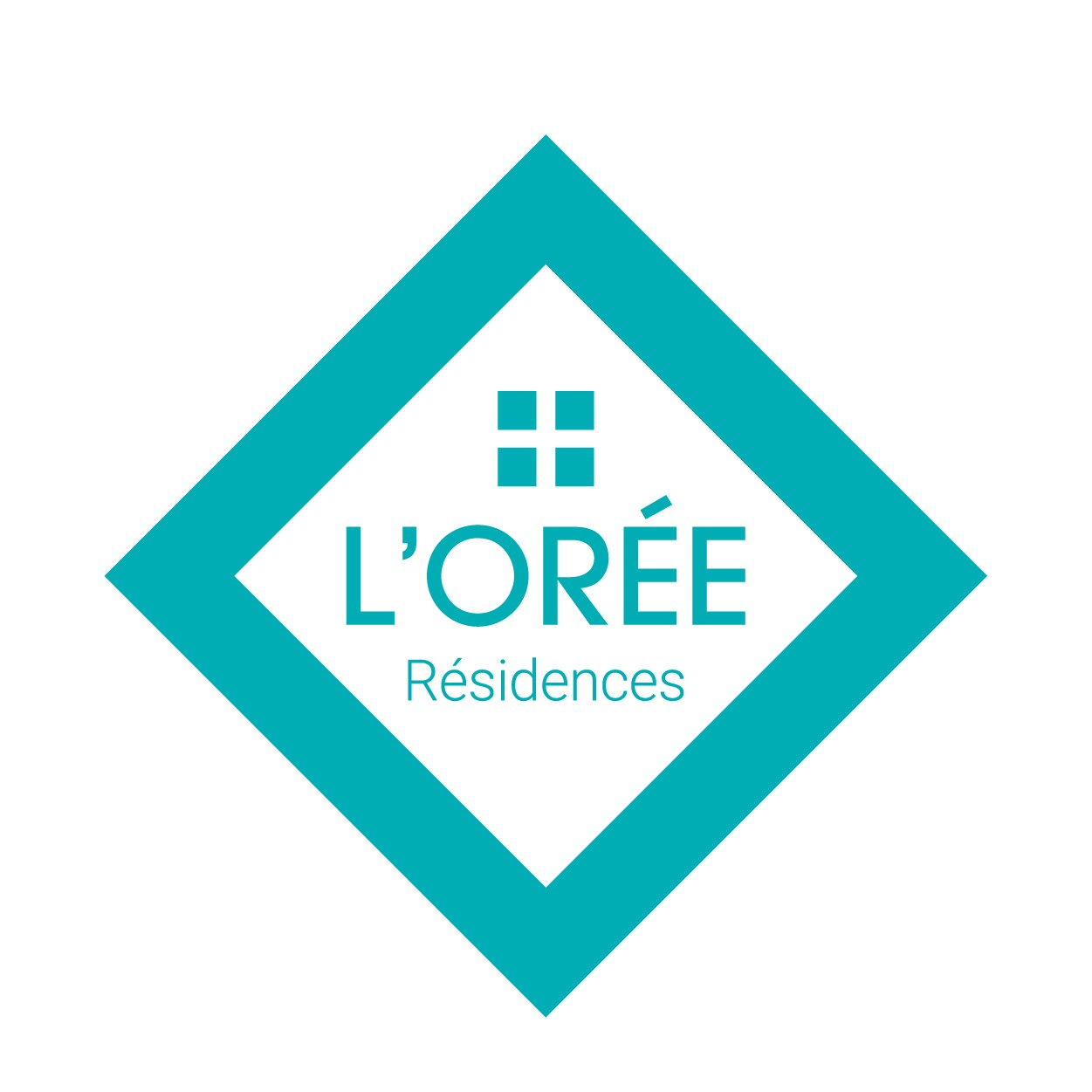 Création logo pour programme immobilier Oree residence - Savoie