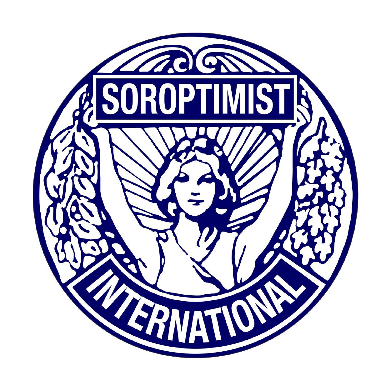 Graphisme publicité et communication pour association SOROPTIMIST - Annecy