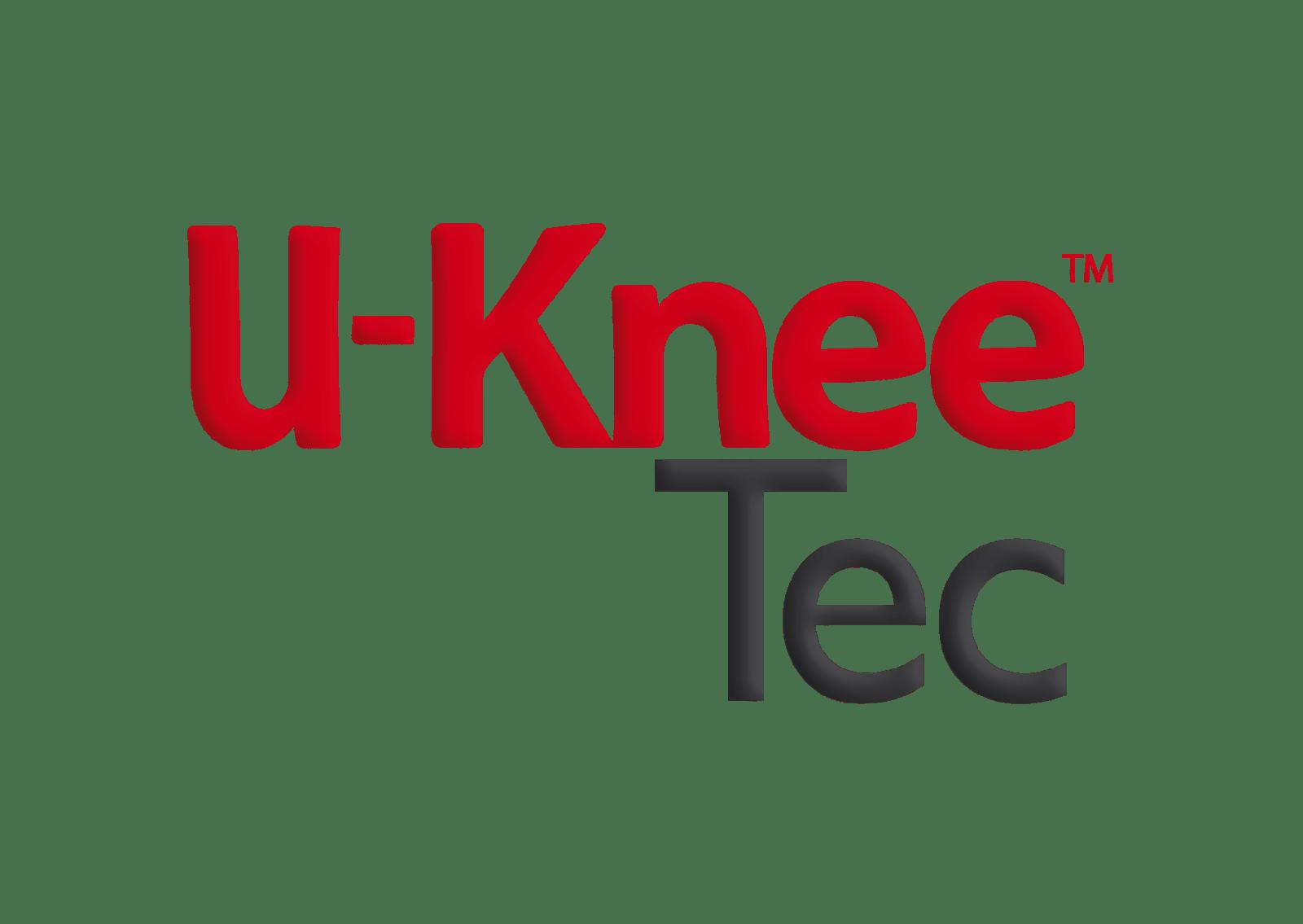 Déclinaison de logo Produit médical U-knee TEC - Geno me