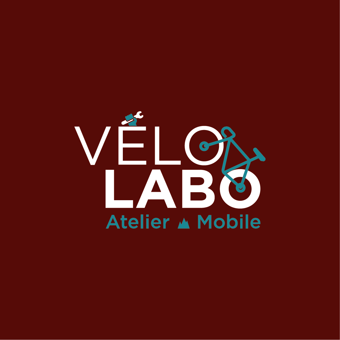 Creation de logo Vélo Labo - atelier mobile - Savoie