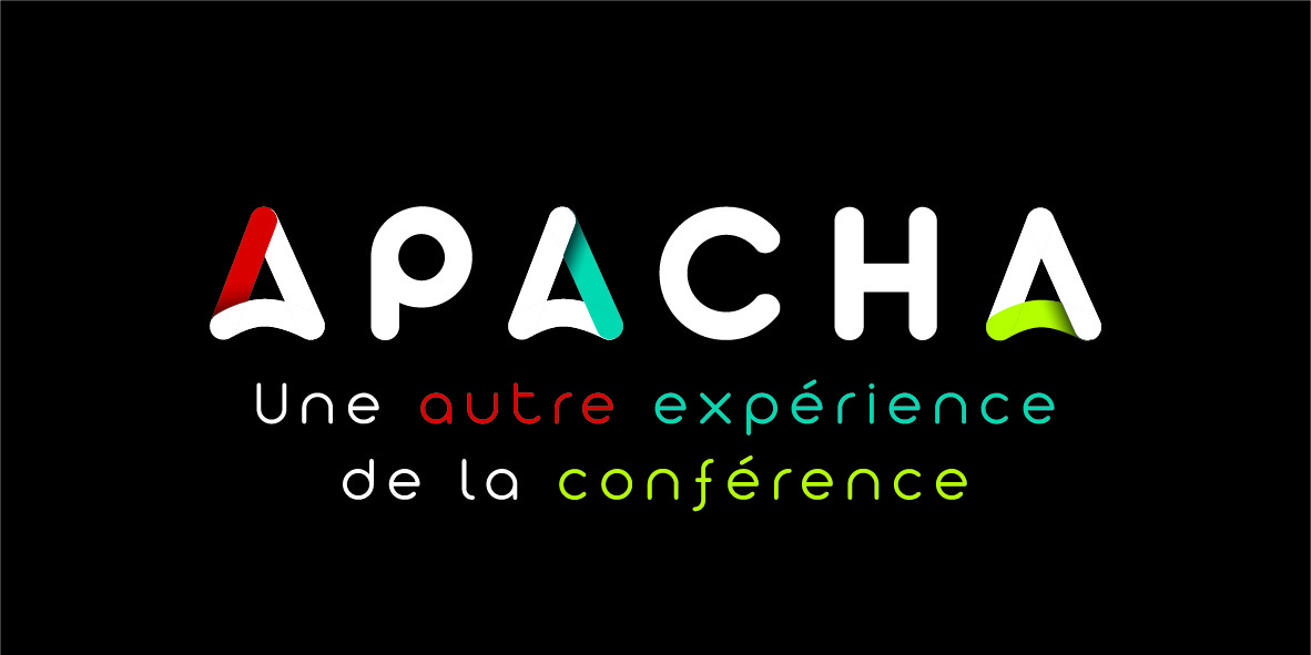 Création de logo pour l'agence événementielle | APACHA | Chambéry - Savoie