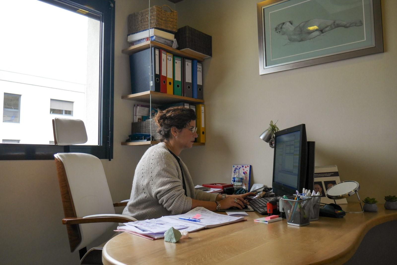 Reportage photo pour pour le centre de Médecine Esthétique de Chambéry en savoie