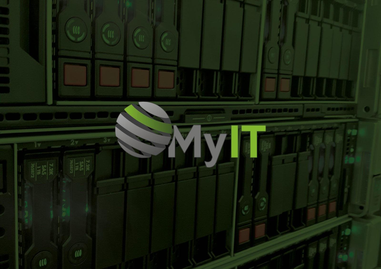 Plaquette et pochette à rabats Société d'informatique | MyIT | Haute-Savoie