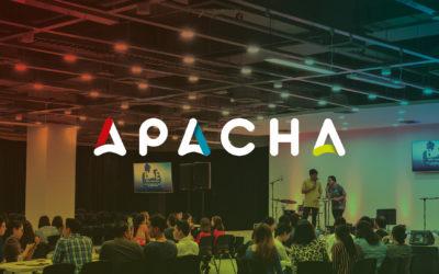 Création de logo pour l'agence événementielle | APACHA | Chambéry – Savoie