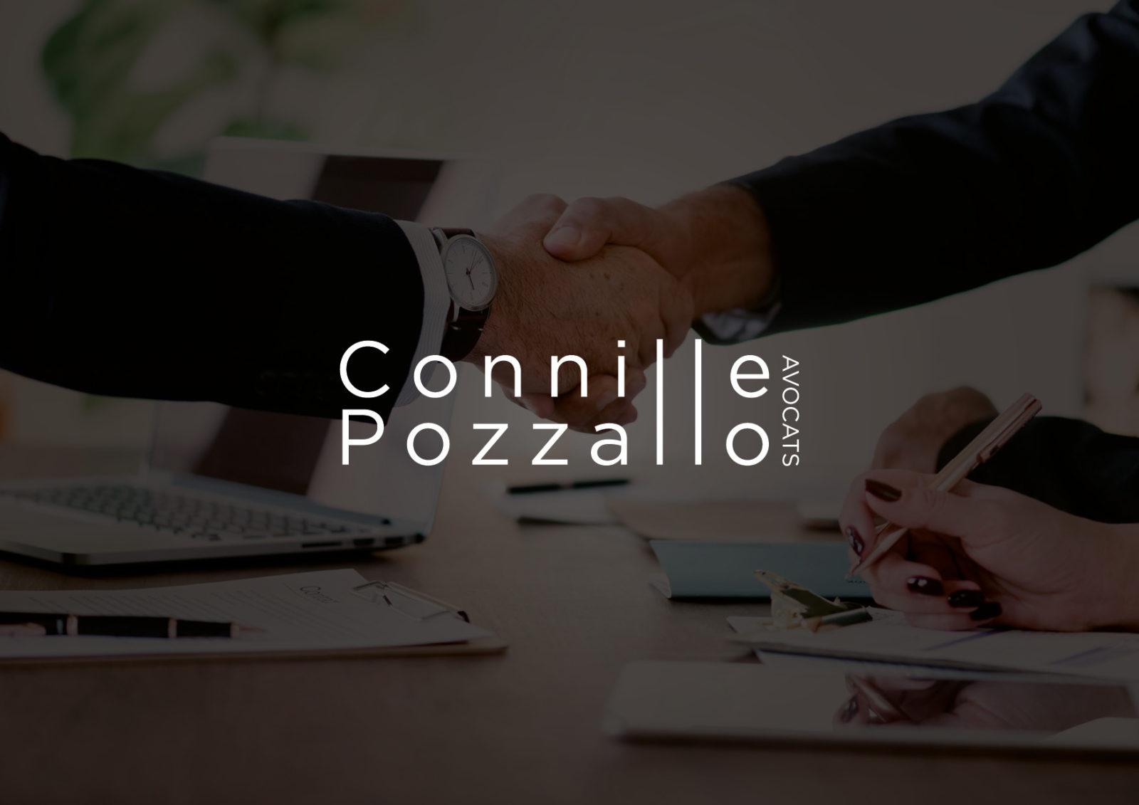 Création de logo pour le cabinet d'avocat | Connille Pozzallo | Chambéry – Savoie
