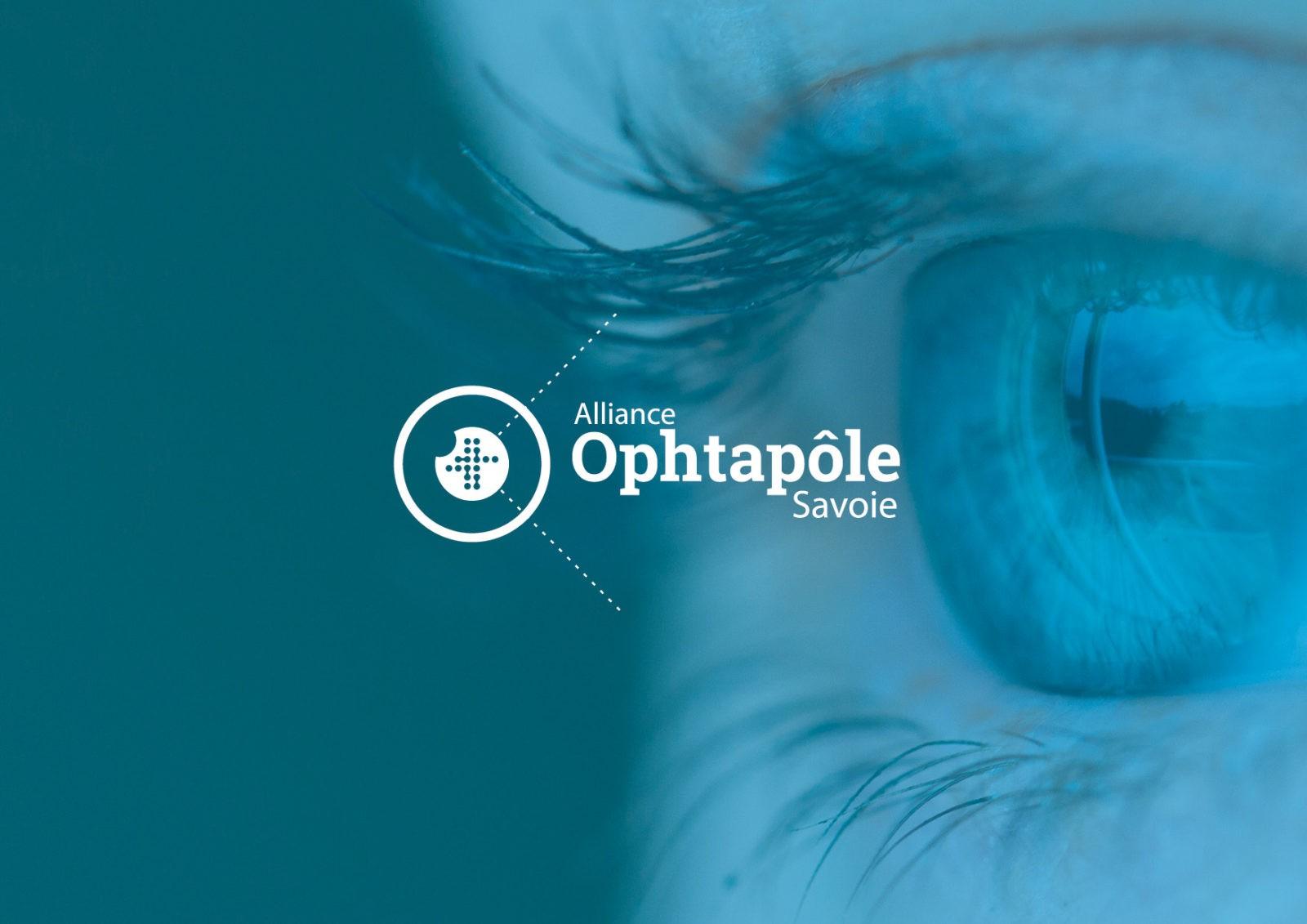 Création de logo pour le centre médical | Ophtapôle Savoie