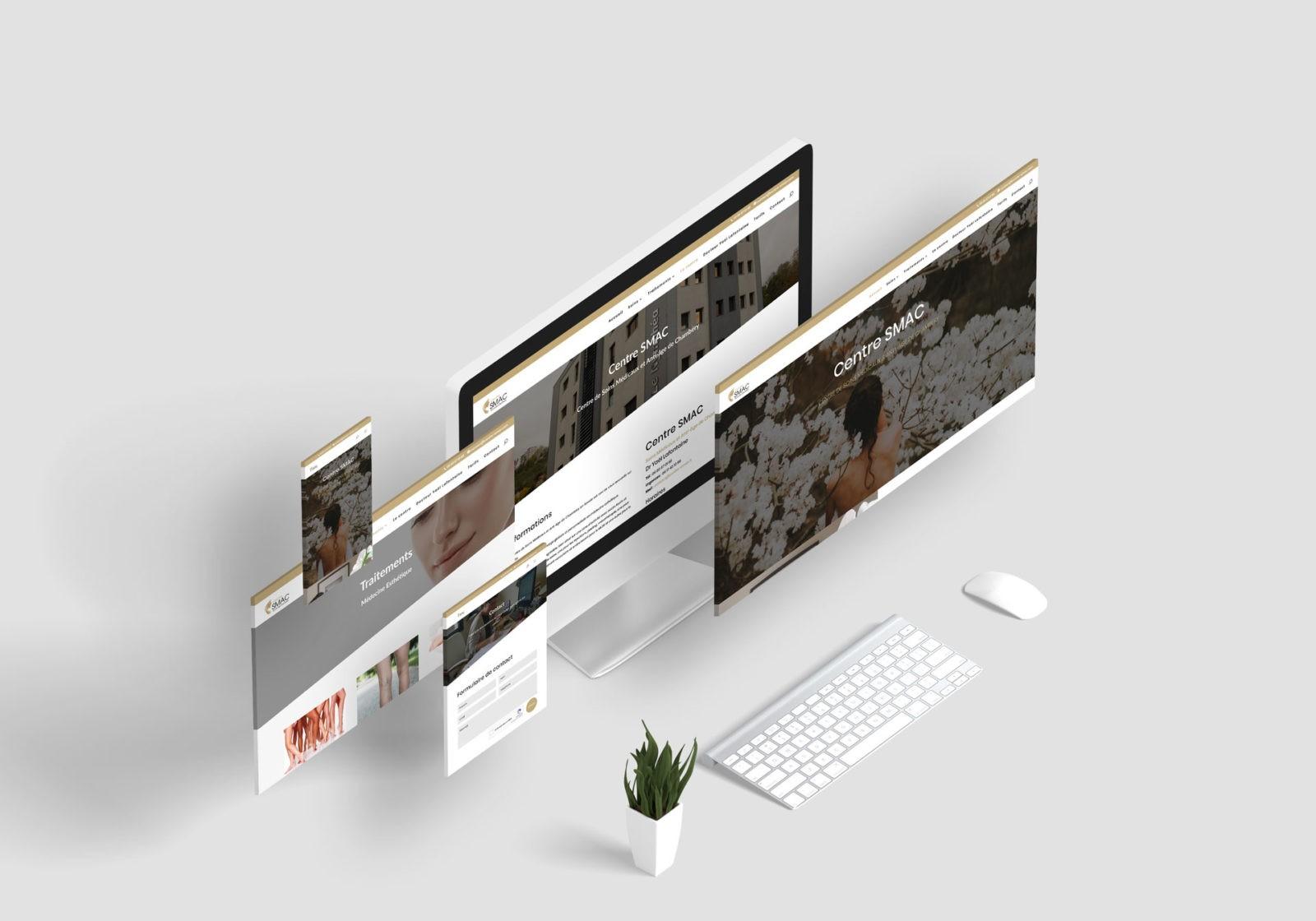 Création de site internet à chambéryen savoie WAM PARK