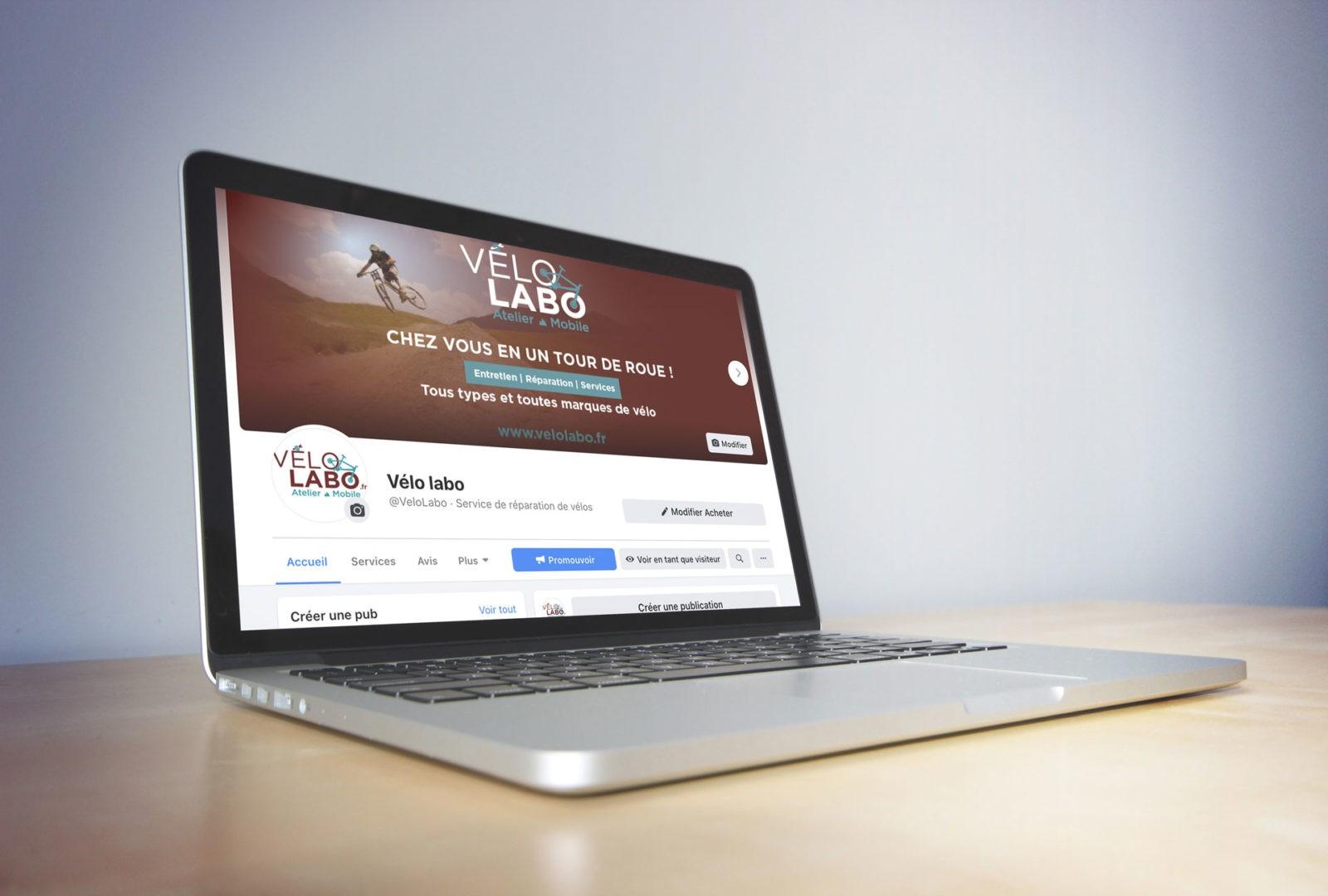 Création de site internet  pour atelier Velo labo en Savoie