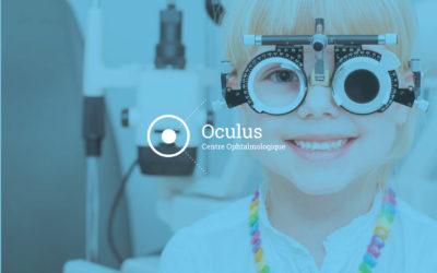 Refonte du site internet et communication visuelle pour le centre Ophtalmologique Oculus en Savoie
