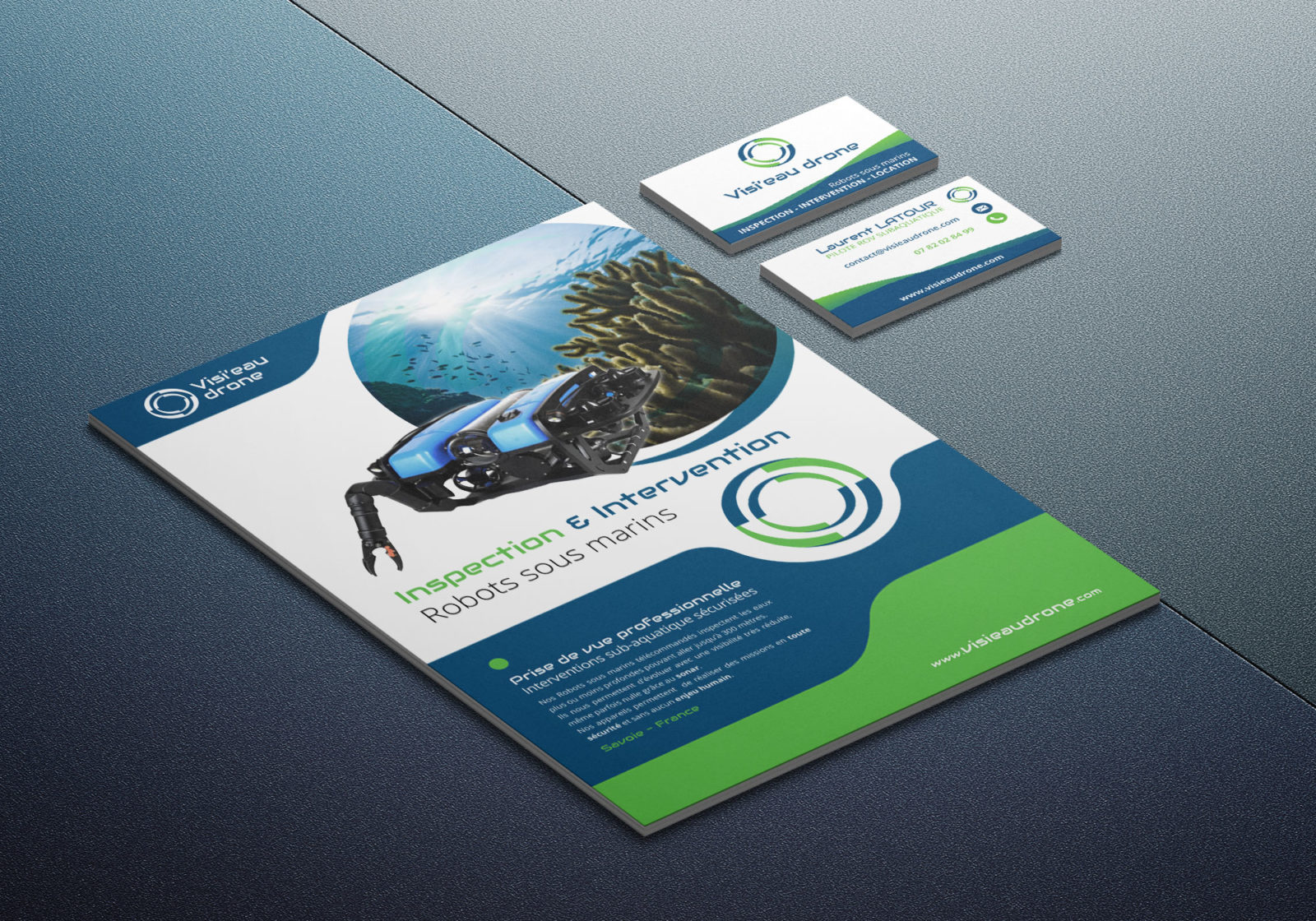 Création et impression de brochure pour entreprise en savoie