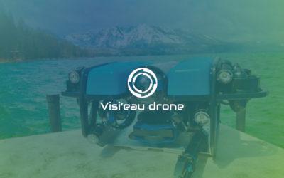 Création de site internet, brochure et carte de visite | Visi'eau Drone | Savoie