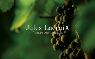Création de logo et site internet Jules Lacroix vins de Bourgogne